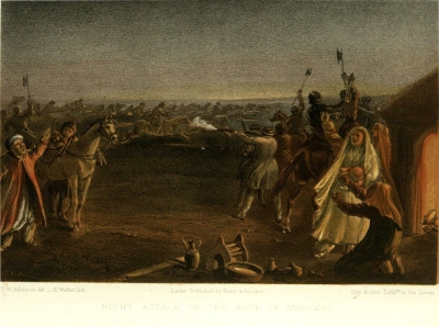 Night attack on the Aoul of Mohammed