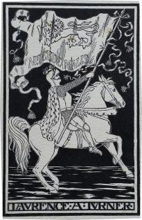Gothic bookplate