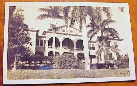 Atkinson Hall-Lahainaluna High School-Hawaii