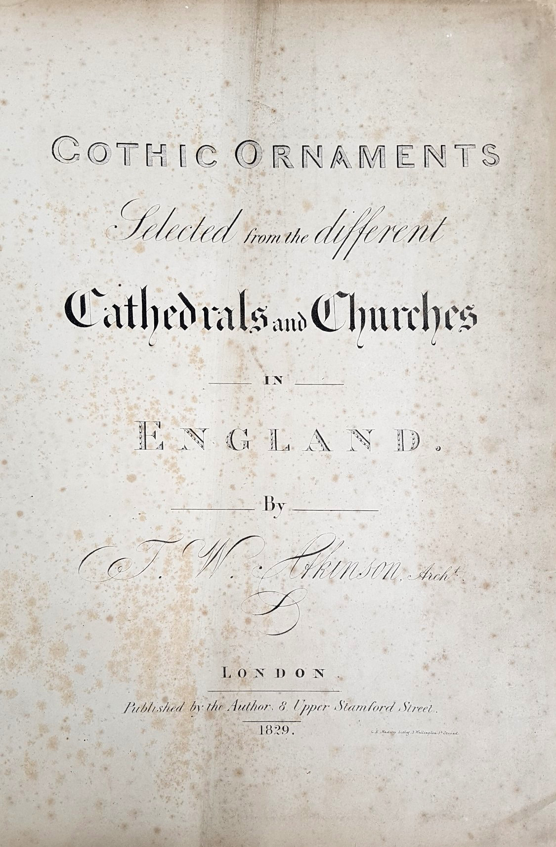 Gothic-Title page